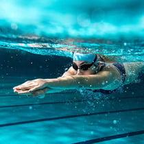 Swimmer at The Alaska Club