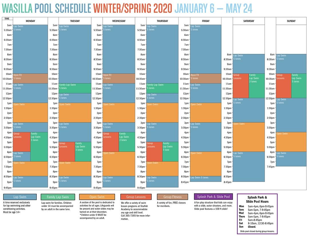 WASILLA POOL Schedule