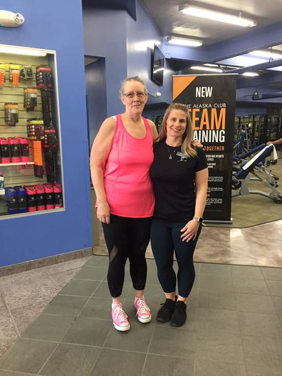 Lee-Ann and Stacey Ledgerwood