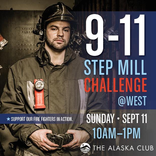 911 Step Mill Challenge