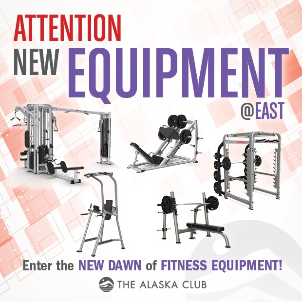 New Equipment at East