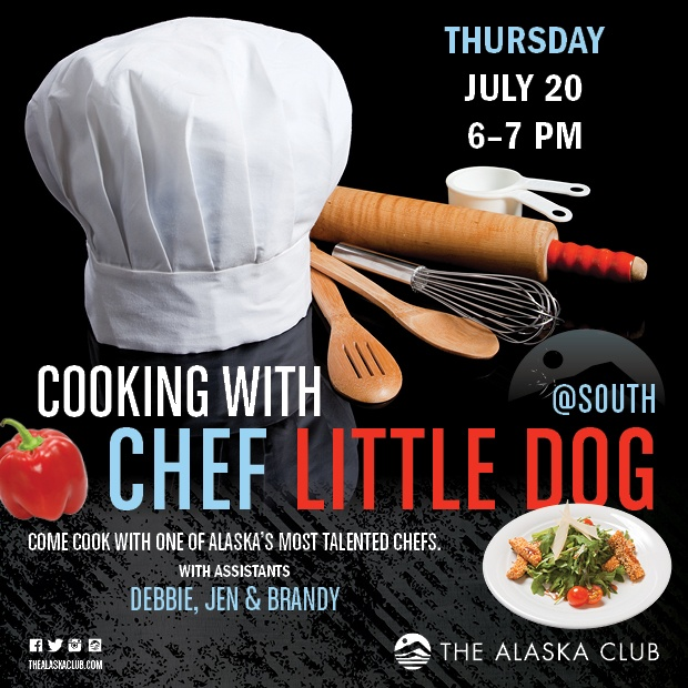 Cooking with Chef Little Dog