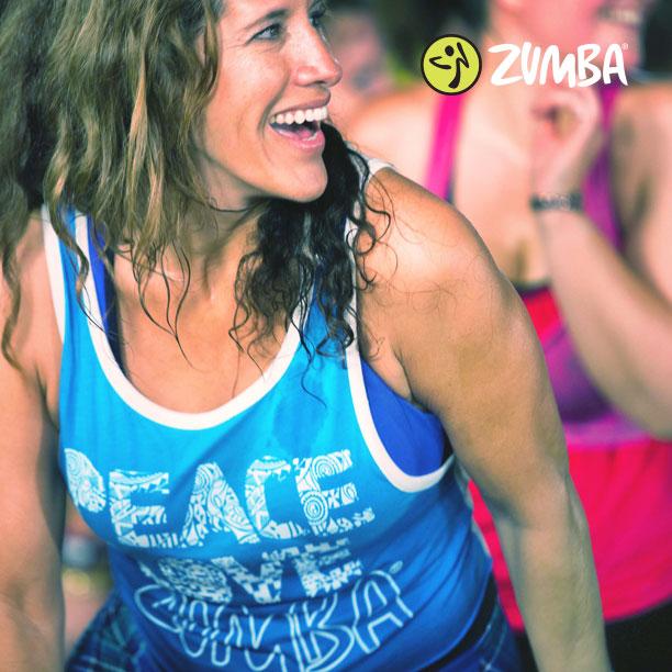 ZUMBA group fitness class