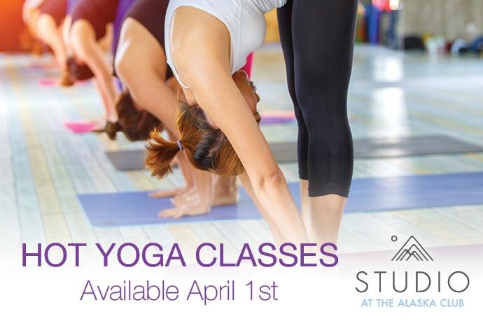 Hot Yoga Classes Available April 1st