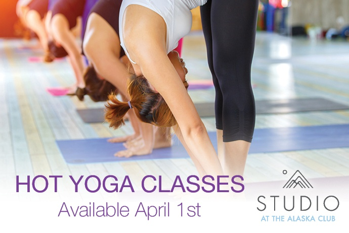 Hot Yoga Classes Available April 1st