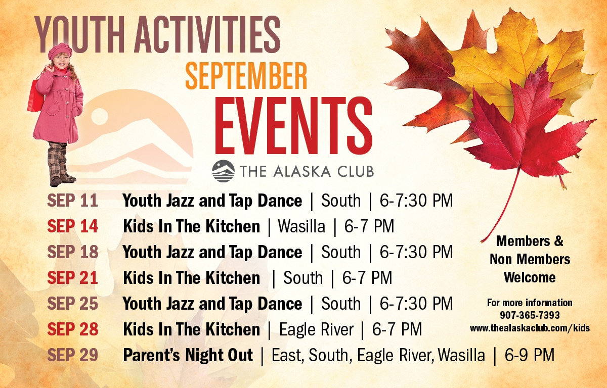 Youth Activites - September Events
