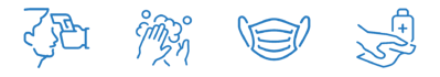 safety icons blue