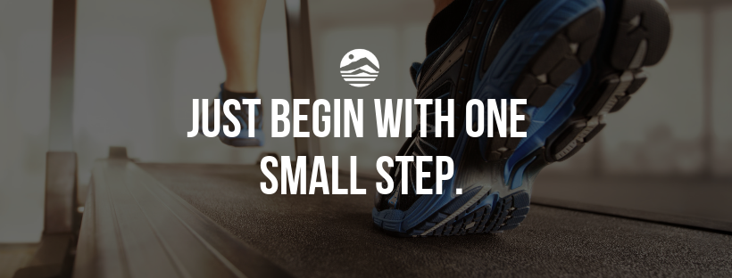All it takes is one small step.