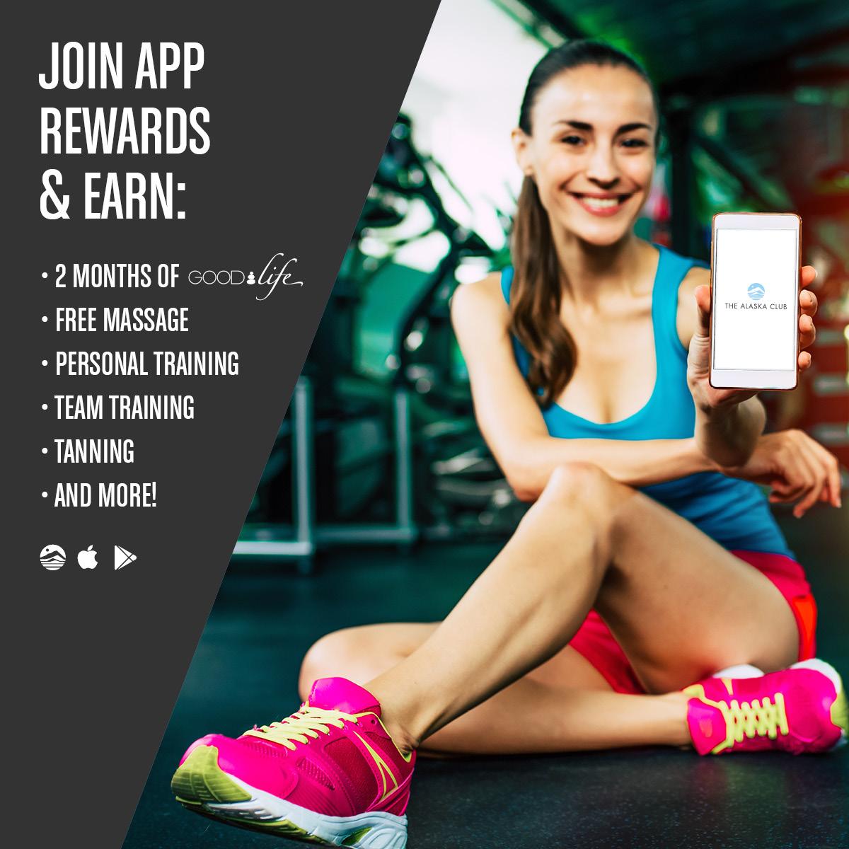 The Alaska Club App Rewards