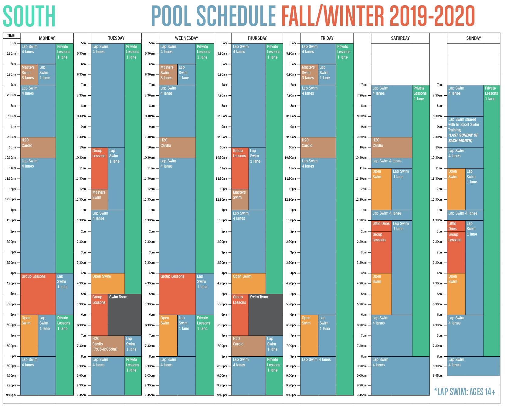 Q4-Q1 Fall-Winter South Pool Schedule [WEB]