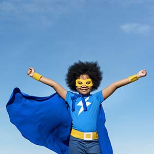 Summer Fun Camp superheroes