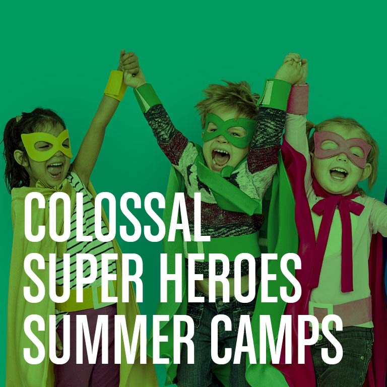 Colossal Super Heroes Summer Camps